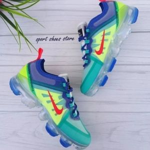 6.5 WOMEN'S NIKE AIR VAPORMAX 2019 BLUE